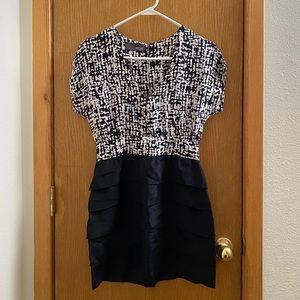 Anthropologie MYNE by Ashley Ann Silk Mini Dress